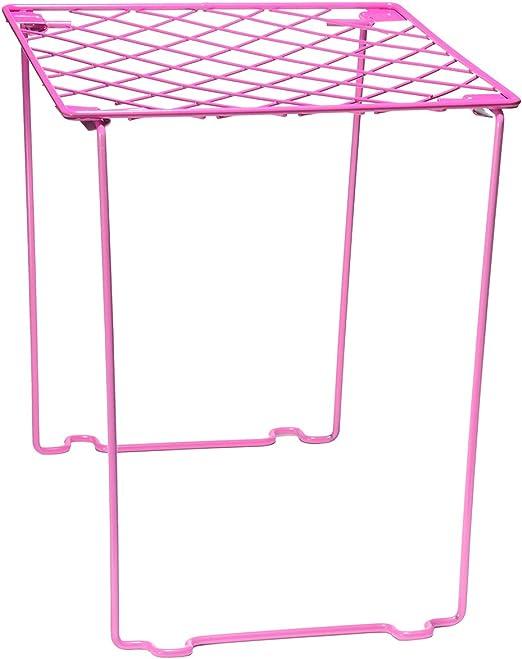 Locker Shelf Stackable Pink