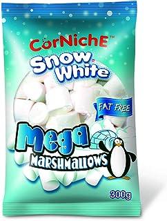 Corniche Mega Marshmallows, Snow White, 300g