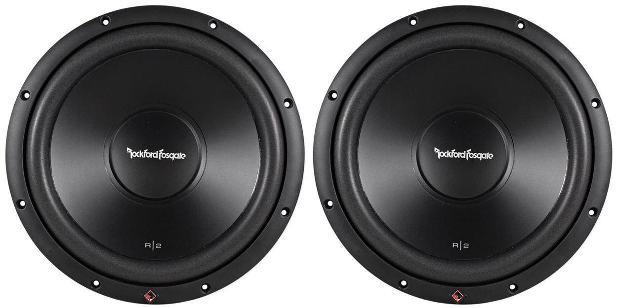 Amazon Com Rockford Fosgate R2d4 12 12 1000w Dual 4 Ohm Car Audio Subwoofers Sub 2 Pack Car Electronics