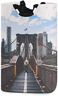 Panier à Linge, New York Brooklyn Bridge paniers de Rangement de Linge vêtements Pliables Sac Organisateur de Jouets pour ...