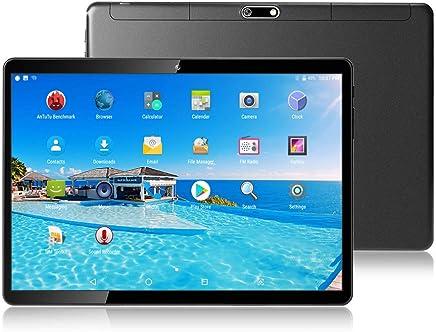"$159 » Tablet 10 Inch (10.1"")   4GB RAM,64GB Disk,Android 7.0   4G LTE Dual SIM,GPS,WiFi,USB,1920X1200 IPS Screen,Octa Core CPU,5+12 MP Camera Computer PC (Black)"