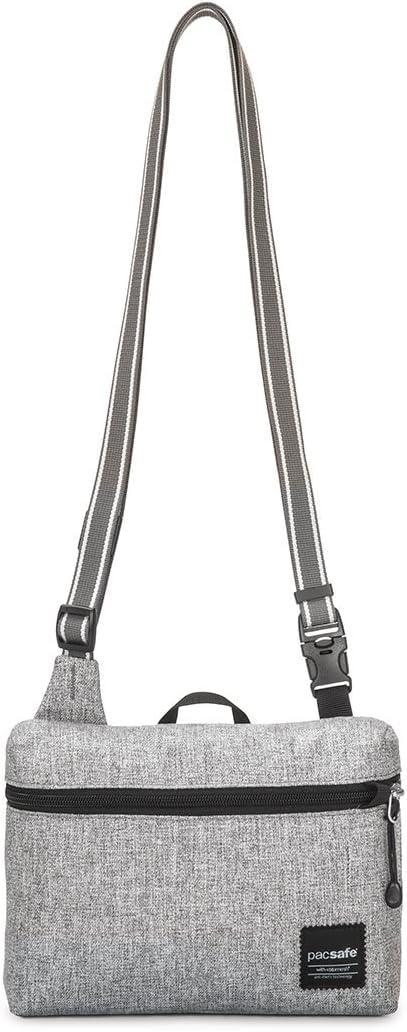 Pacsafe Slingsafe Lx50 Anti-Theft Mini Cross-Body Bag, Tweed Grey, One Size