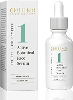 Active Botanical Face Serum • Face Oil for Women • Anti-Aging Serum for Face • Natural Wrinkle Serum • 1 FL Oz