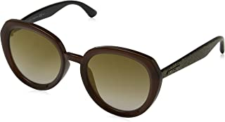 Jimmy Choo Women's MACE/S JL DXJ 53 Sunglasses, Brwgltt Gold/Bw Black Brown