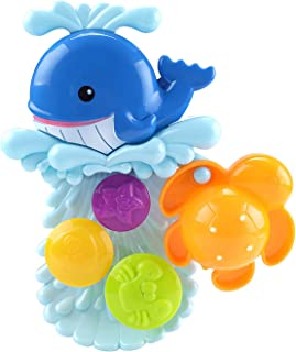 Zcovcaa Baby Bath Toys, Comfortable Baby Water Spray Toy Cute Shower Bathtub Toy Safe Water Bathing Toy Fish Catching Game...