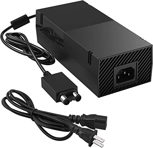 Xbox One Power Supply Brick, [Upgraded Version] UKor Xbox AC Adapter Replacement Charger Power Cord Cable for Microso...