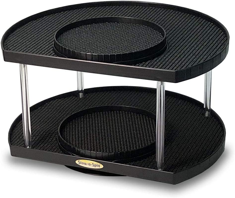 Stow-n-Spin Deluxe Double Max 54% OFF Special price Black