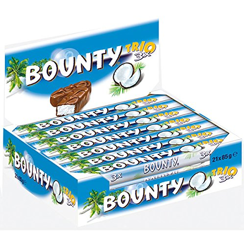 Bounty Trio Schokolade, 21 x 85 g