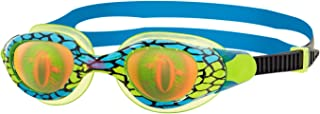 Zoggs Juniors Sea Demon Hologram Lenses Swim Goggles - Green/blue, 6-14 Years