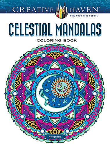 Creative Haven Celestial Mandalas Coloring Book (Creative Haven Coloring Books)