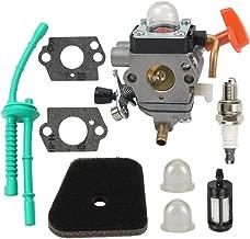 Mannial Carburetor Carb fit Stihl FS87 FS90 FS100 FS110 HT100 HT101 HL100 HL90 Rep # 4180-120-0604 4180-120-0607 4180-120-0608 4180-120-0610 4180-120-0611 4180-120-0613 with Air Filter Fuel Filter