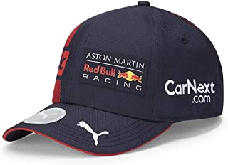 PUMA AMRBR Replica Verstappen BB Cap Cap, Unisex Adult, Night Sky/Chinese Red, One Size
