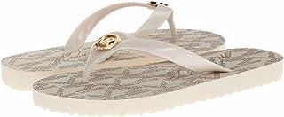 Michael Kors Women's Flip Flops 6 B(M) Us Vanilla