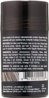 ألياف توبيك للشعر لون رصاصي حجم عادي 12 جم Toppik Building Fibers Gray 12 gm