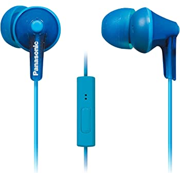 Panasonic ErgoFit Earbud Headphones with Microphone and Call Controller Compatible