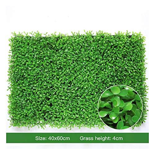 Kleine Erdnuss Gras Gras Rasen Künstliche Pflanze Wand Rasen Hintergrund Wand Grüne Pflanze Wand Tür Shop Dekoration Künstliche Pflanze Blumenwand(Size:40x60cm)