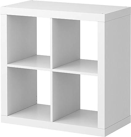 2 estanterías Ikea Kallax, color blanco, perfecto para cestas ...