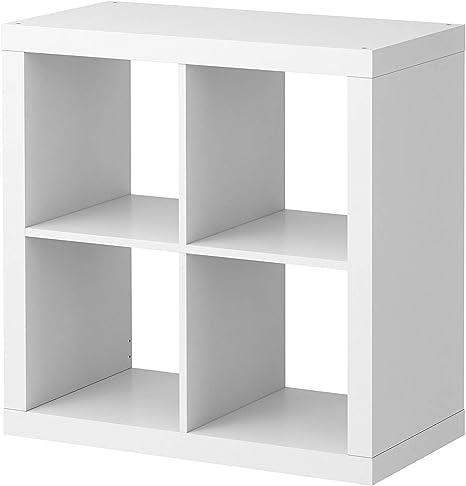 2 estanterías Ikea Kallax, color blanco, perfecto para cestas o ...