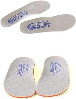 Meindl Semelles Air-Active Soft Print Chaussettes - Semelles gris Pointure des Semelles 42 (UK8)