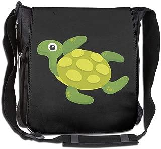Eden Edies Lovely Swimming Turtle Unisex Crossbody Bag Messenger Shoulder Sling Postman Bags