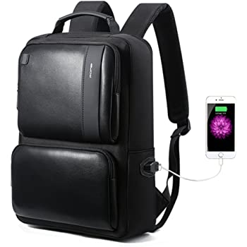 BOPAI Backpacks and Anti-Theft Computer Rucksack, Black1, 15.6 inches