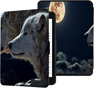 QIYI Case for Kindle Paperwhite Prior to 2018 Water-Safe Cover Fits Old Generation PU Leather Cases Kids Ereader Accessori...