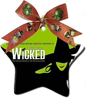 Terwen -The Wicked Musical Broadway Drama Custom Home Decoration Style - Christmas Decorations Gifts