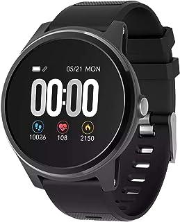 Outdoor Sports Kleur Scherm Smart Health Horloge Hartslag Bloeddruk ECG Bluetooth Calorie Stappenteller Kilometerhorloge