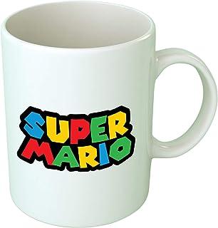 Upteetude Super Mario Logo Printed Coffee Mug