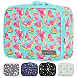 Simple Modern Kids Lunch Bag - Insulated Reusable Meal Container Box for Girls, Boys, Women, Men, Small Hadley, Watermelon Splash