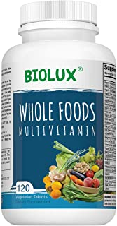 Whole Food Multivitamin for Women and Men - - with Natural Vitamins, Minerals, Organic Extracts - Vegan Vegetarian - Best ...