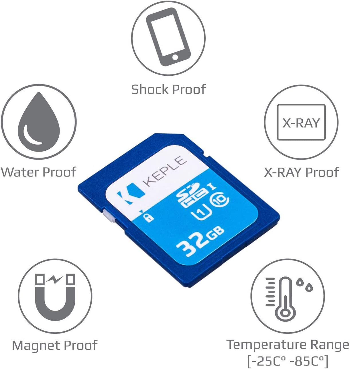 32GB SD Memory Card   SD Card Compatible with Sony Cybershot Series DSC-W690, DSC-WX150, DSC-WX300, DSC-WX80, DSC-RX1, DSC-TX20, DSC-HX300, DSC-HX50V, DSC-HX90V, DSC-TF1 DSLR Camera   32 GB