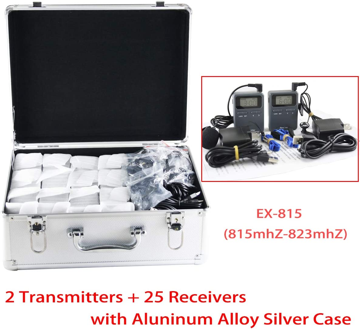 EXMAX UHF 99 Channels Wireless 70% OFF Outlet Acoustic Transmission Tou Whisper Department store