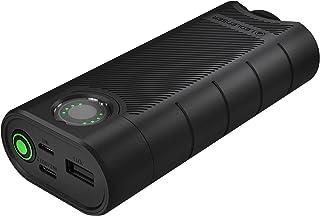 Ledlenser Flex10 Powerbank, 6-i-1 powerbank, kort laddningstid, 2 batterier ingår, kortslutningssäker, lång livslängd tack...