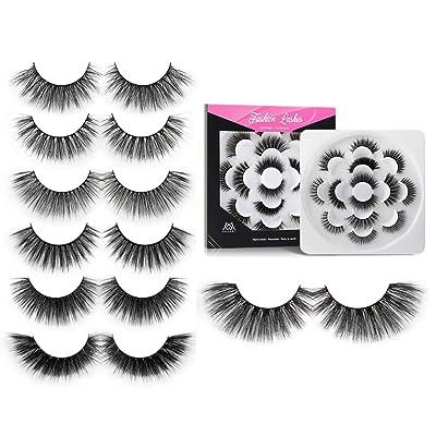 MAGEFY Eyelashes 3D 5D Lashes 7 Styles Handmade...