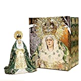 Trofeos Cadenas | Virgen de la Macarena. Figura Religiosa, en Resina, de 15 cm con Caja...