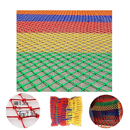 Review Of HWJ Children's Multi-Color Safety Net Stairs Protection Net Interior Decoration Net Ceilin...