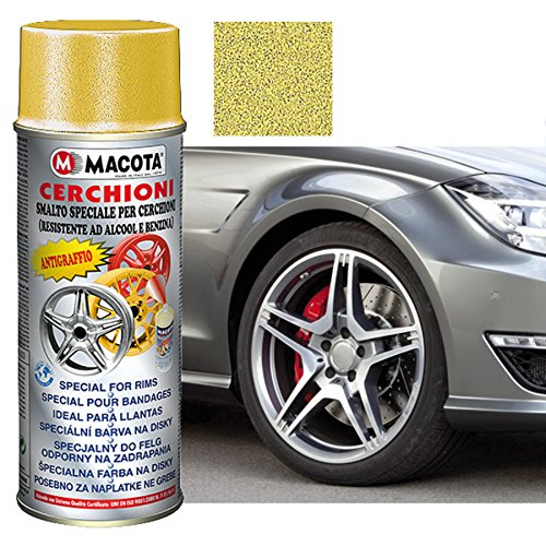 Spray pintura Oro metalizado Llantas 400ml