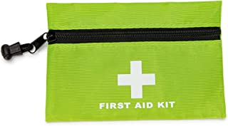 PAXLamb Red First Aid Bag Small First Aid Kit Empty Medical Storage Bag for First Aid Kits Pack Emergency Hiking Backpacki...