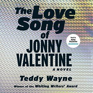 The Love Song of Jonny Valentine audiobook cover art