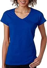 Gildan Softstyle Ladies' V-Neck T-Shirt