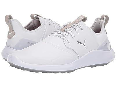 PUMA Golf Ignite Nxt Pro (White/Silver/Gray Violet) Men