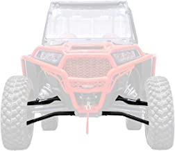 SuperATV Heavy Duty High Clearance Forward Offset Front A-Arms for Polaris RZR XP 1000/4 1000 (2014+) - Black - Includes All 4 Arms - Non-Adjustable