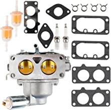 CQYD New 791230 Carburetor With Gasket Kit For Briggs & Stratton 792295 699709 799230 & 499804 V-Twin 20hp 21hp 23hp 24hp 25hp Manual Choke Carb