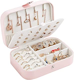Hot Sale!DEESEE(TM)🍀🍀Earring Ring Jewelry Display Storage Box Case Organizer Flannel Tray Holder Gift
