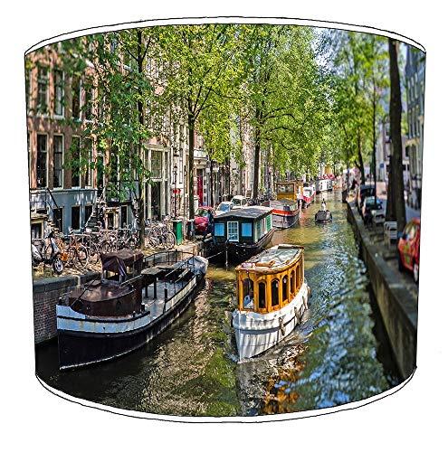 20cm stad van amsterdam lampekap5 Voor een tafellamp