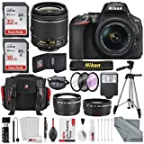 Nikon D5600 DSLR Camera And 18-55mm Lens Kit W/ Total of 48 GB Memory...