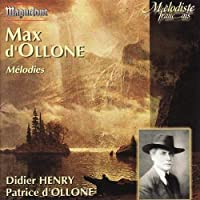 D'Ollone: Melodies by P. d'Ollone (2013-10-29)
