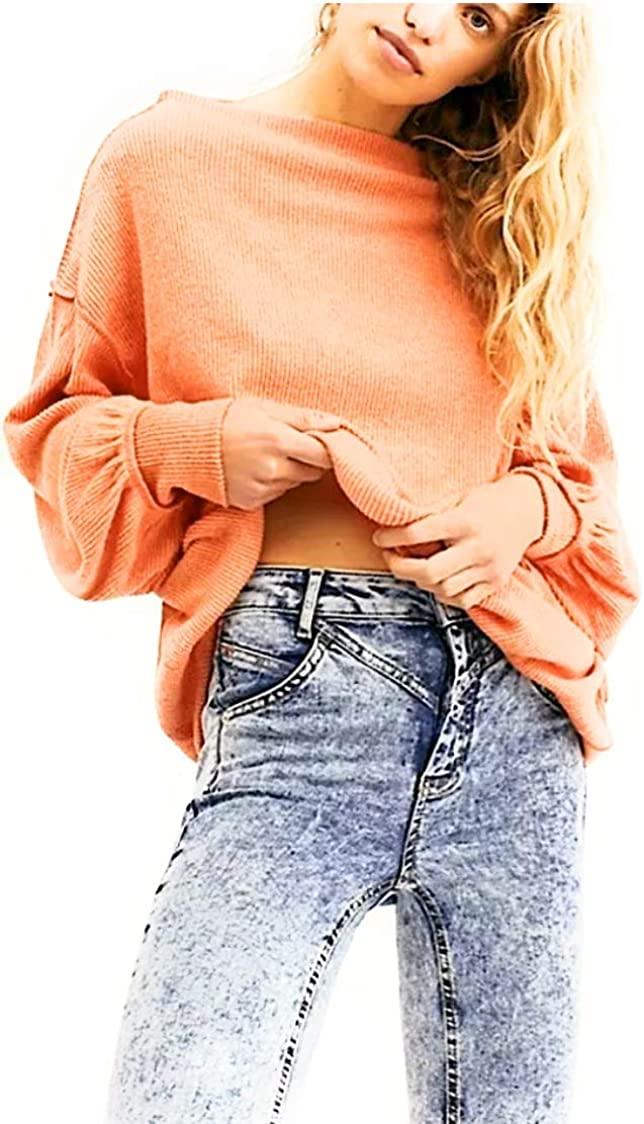 Free People We The Free Main Squeeze Hacci Top Cayenne Medium M (Women's 8-10)