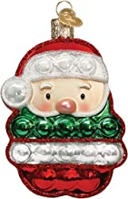 Old World Christmas Ornaments Santa Popper Glass Blown Ornaments for Christmas Tree